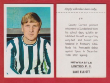 Newcastle United Dave Elliott 171
